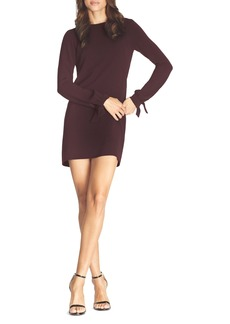 Dress the Population Dahlia Long Sleeve Drape Back Minidress
