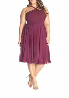 Dress the Population Dakota Halter Midi Dress