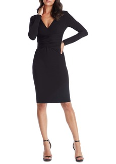 Dress the Population Drew Long Sleeve Body-Con Dress