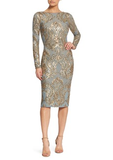 Dress the Population Emery Sequin Sheath Dress (Nordstrom Exclusive)