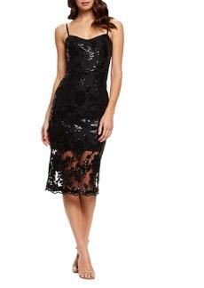 Dress the Population Kate Embellished Cocktail Dress