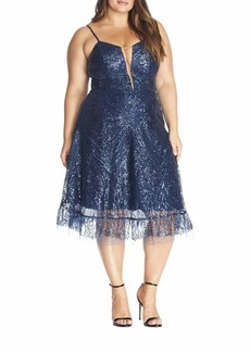 Dress the Population Leona Art Nouveau Dress