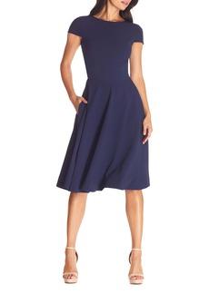 Dress the Population Livia Fit & Flare Dress