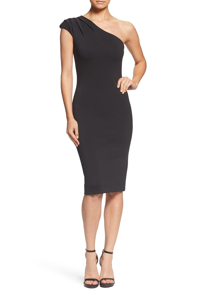 d94aa8031b4 Dress the Population Quinn One-Shoulder Body-Con Dress (Nordstrom Exclusive)