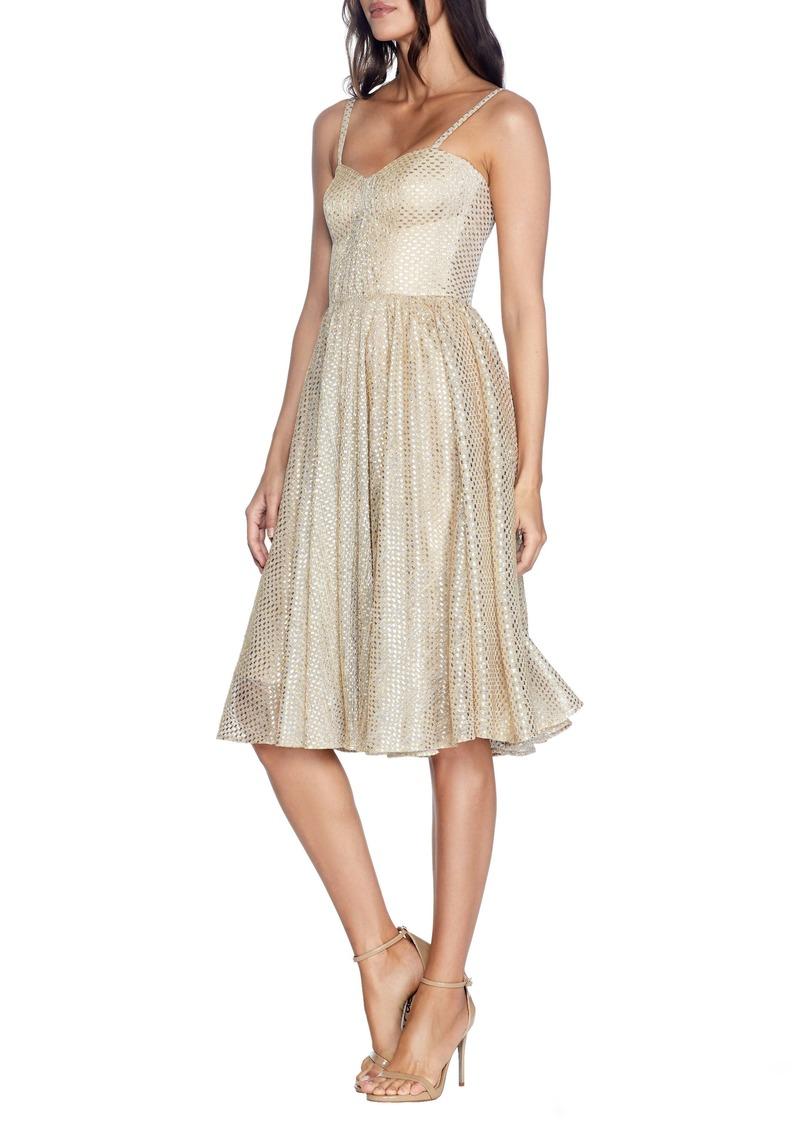 Dress the Population Rachael Sleeveless Fit & Flare Dress