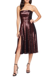 Dress the Population Ruby Strapless Sequin Party Dress