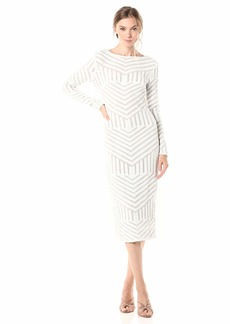 Dress the Population Women's Emery  M