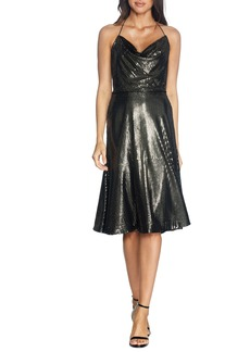 Dress the Population Zherra Sequin Midi Dress