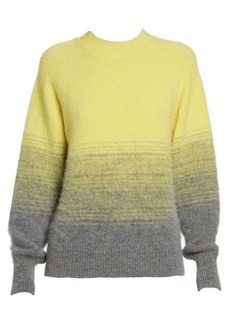 Dries Van Noten Alpaca & Wool-Blend Crewneck Knit Sweater