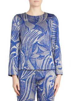 Dries Van Noten Jacquard Top