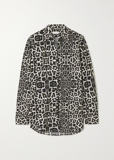 Dries Van Noten Leopard-print Cotton-poplin Shirt