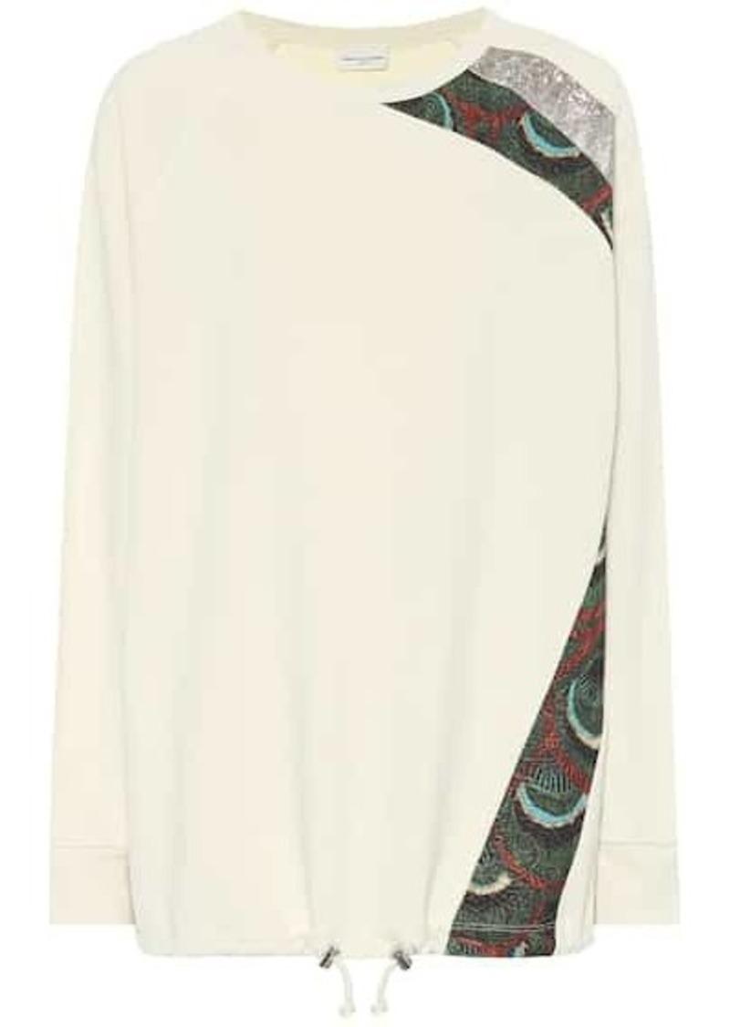 Dries Van Noten Cotton-blend sweatshirt