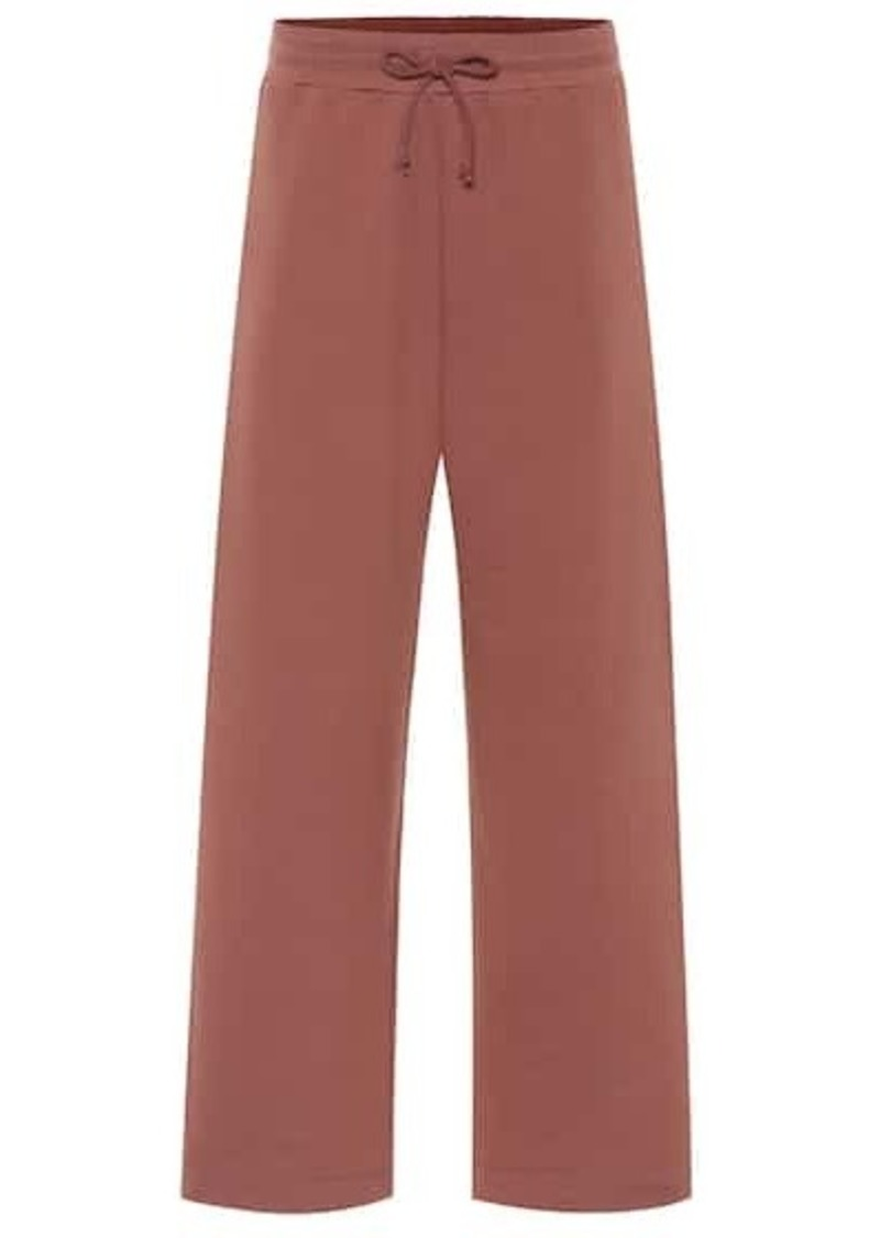 Dries Van Noten Cotton-jersey trackpants