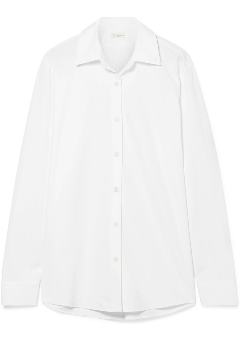 Dries Van Noten Cotton-poplin Shirt