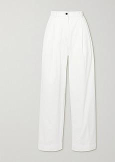 Dries Van Noten Cotton-twill Wide-leg Pants