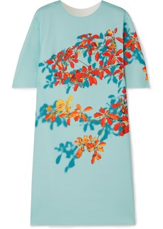 Dries Van Noten Dan Floral-print Stretch-scuba Dress
