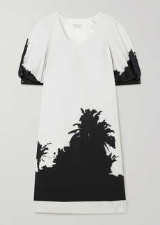 Dries Van Noten Dean Printed Cotton-poplin Dress