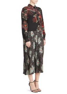 Dries Van Noten Printed Shirt Dress