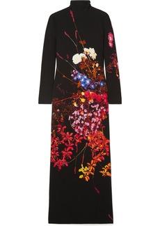 Dries Van Noten Dolfi Floral-print Crepe Maxi Dress