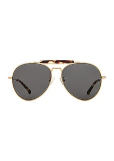 Dries Van Noten Aviator Sunglasses