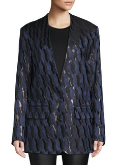 Dries Van Noten Brocade Suit Jacket