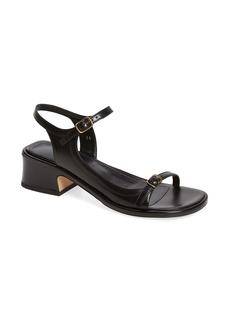 Dries Van Noten Buckled Strap Block Heel Sandal (Women)