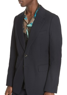 Dries Van Noten Burnes Pinstripe Jacket