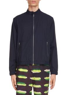 Dries Van Noten Caraffe Zip Cotton Jacket