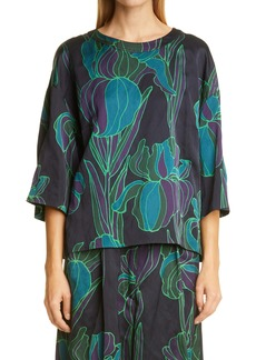 Dries Van Noten Cartasy Swing Top