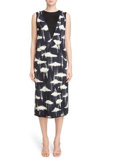 Dries Van Noten Cloud Print Dress