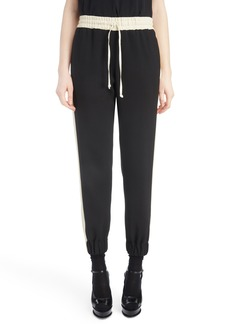 Dries Van Noten Contrast Stripe Track Pants
