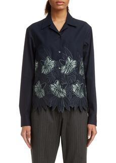 Dries Van Noten Copine Embroidered Shirt