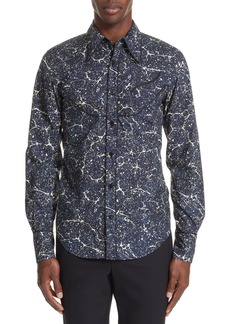 Dries Van Noten Council Print Sport Shirt