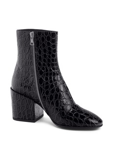 Dries Van Noten Croc Embossed Bootie (Women)
