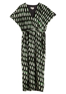 Dries Van Noten Dorias Print V-Neck Dress
