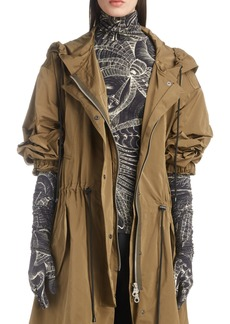 Dries Van Noten Drawcord Waist Jacket