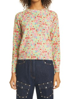 Dries Van Noten Floral Cashmere Sweater