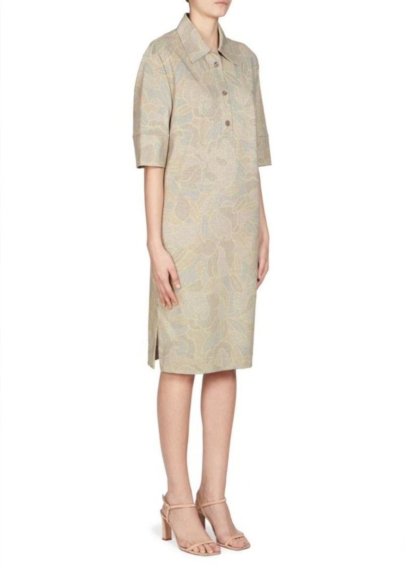 3f1a4de661 Dries Van Noten Floral Shirt Dress