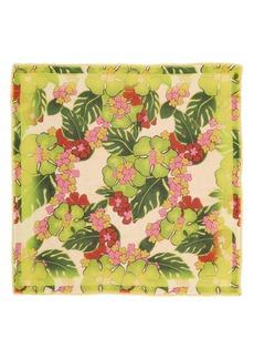 Dries Van Noten Floral Silk Blend Scarf