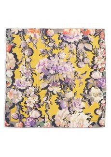 Dries Van Noten Floral Silk Scarf