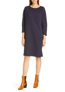 Dries Van Noten Harine Raglan Long Sleeve Sweatshirt Dress