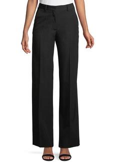 Dries Van Noten High-Rise Wide-Leg Wool Pants