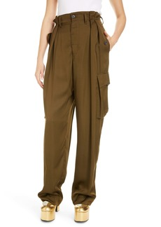 Dries Van Noten High Waist Wide Leg Pants