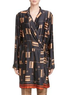 Dries Van Noten Kimono Wrap Dress
