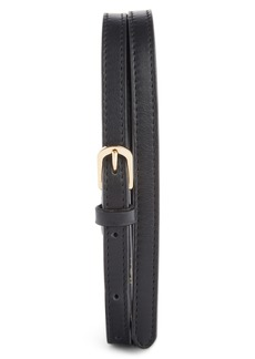 Dries Van Noten Leather Skinny Belt