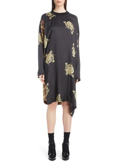 Dries Van Noten Mixed Print Dress
