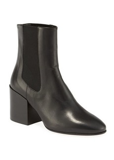 Dries Van Noten Napa Gored Leather Booties