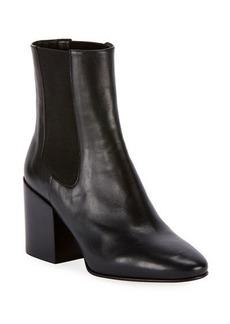 Dries Van Noten Napa Gored Leather Booties