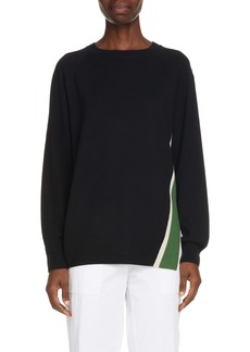 Dries Van Noten Newton Stripe Merino Wool Sweater