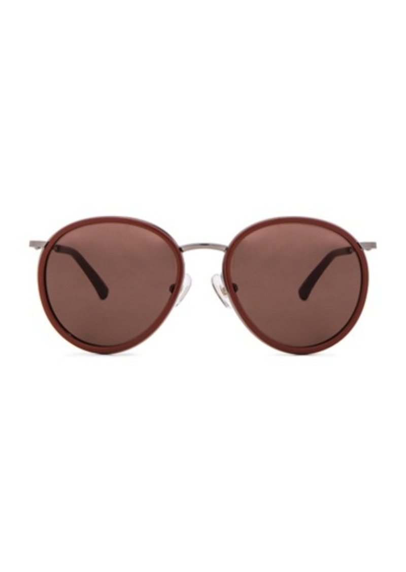 Dries Van Noten Oval Sunglasses